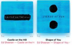Sheeran's new singles spark 2017 music scene