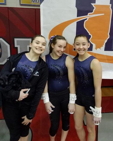 Girls gymnastics team sticks it at State