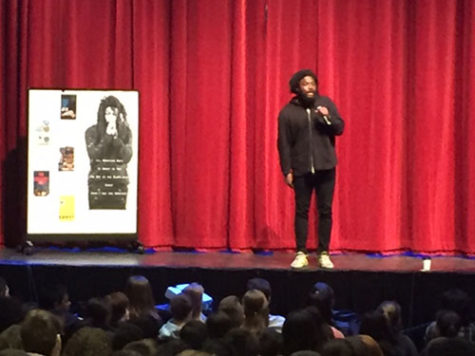 Author Jason Reynolds opens up about his influences