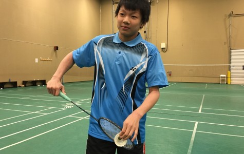 Justin Yang is among nation's best badminton players