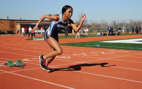 Shaliyah Dixon-Tucker sprints her way into DGS history