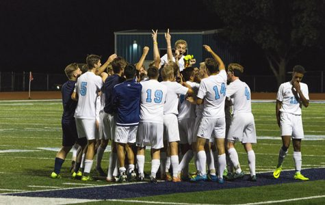 Boys soccer team works their way to the top