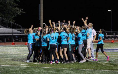 Powderpuff football in photos–seniors win