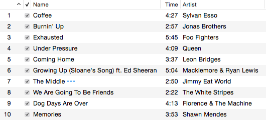The perfect hallway playlist blueprint during your four years at dgs a lot of things happen some by choice and others just by growing up each year doing homework sitting in a hot classroom malvernweather Images