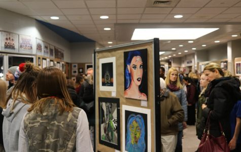 DGS hosts another successful winter art show
