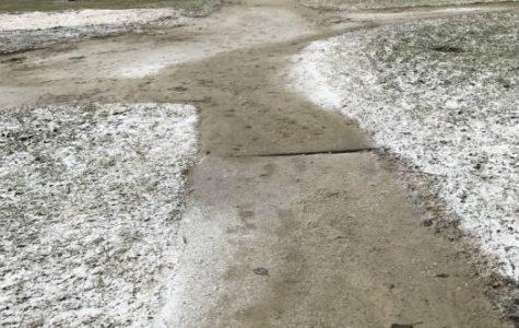 Please pave the path through Powers Park