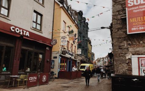 Traveling across Ireland in seven days