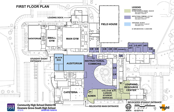 District 99 pushes to make changes within both schools for School blueprint maker