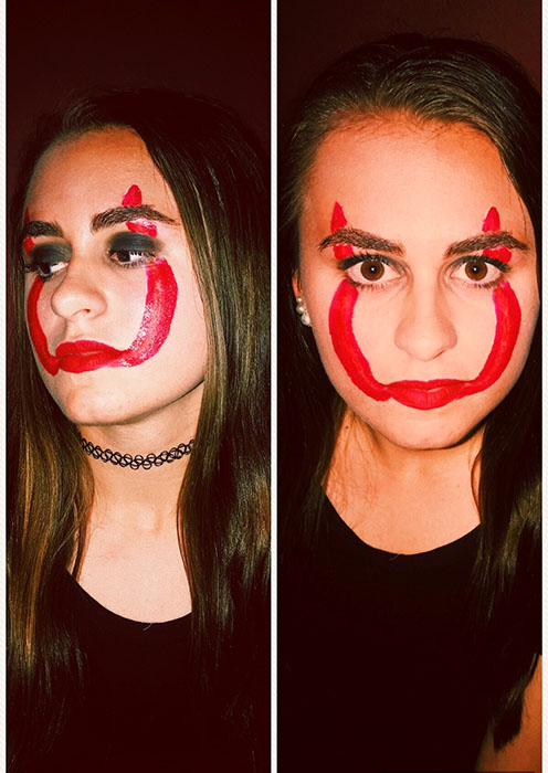 Pennywise makeup: how to make