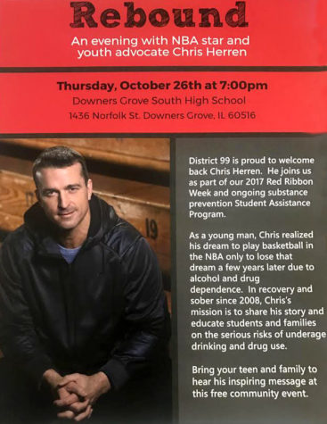 Former NBA player Chris Herren talks on his battle with substance abuse