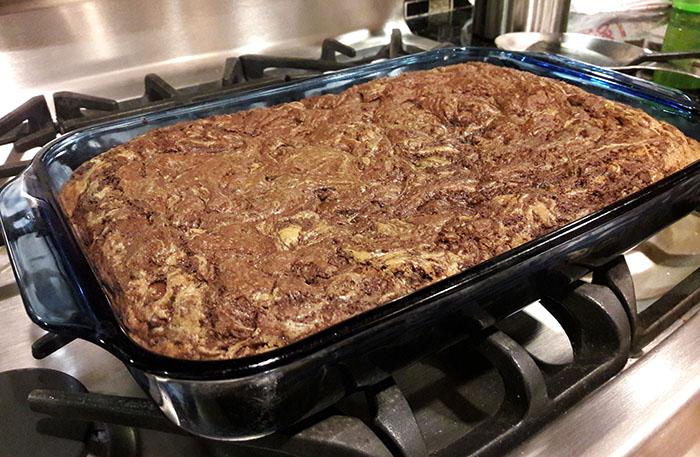 Marble Brookies: a chocolate lovers dessert