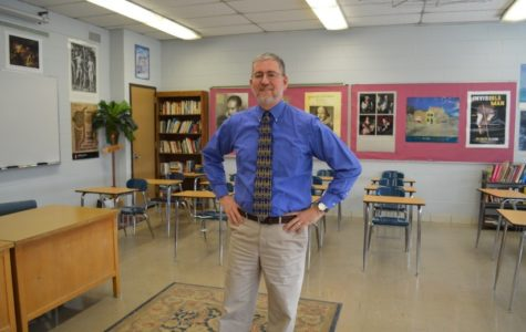 Mr. Spitler: his 'senior' year of teaching