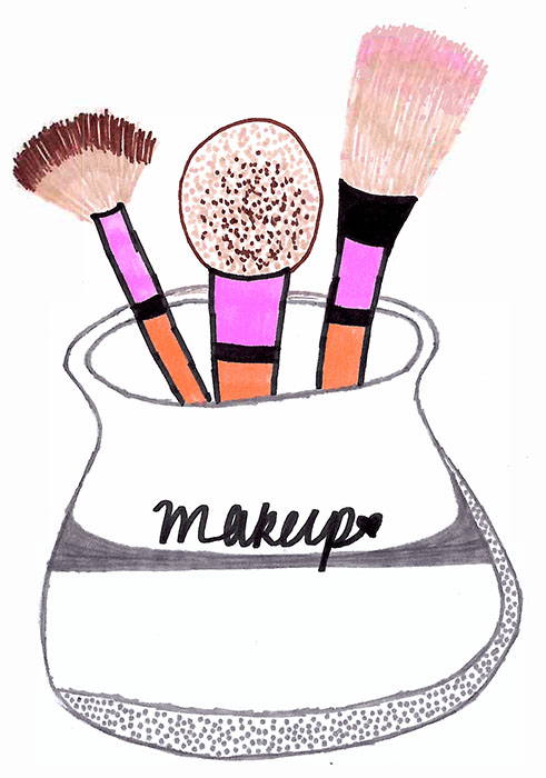 Makeup Clip Art: Makeup Brush Clip Art