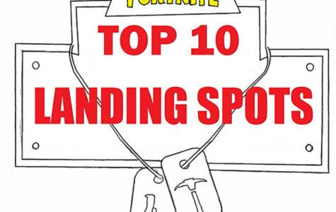 Top Ten Tuesday: Fortnite Landing Spots
