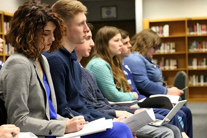 Students come face-to-face with board after forum disappoints