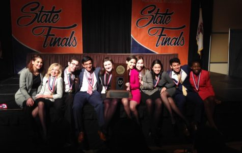 Speech team rises to the top as back-to-back state champions
