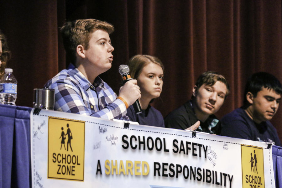 School safety forum leaves students with unanswered questions