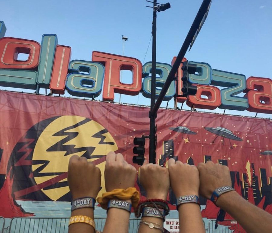 Lollapalooza is one of the largest music festivals in the country and occurs every summer in downtown Chicago.