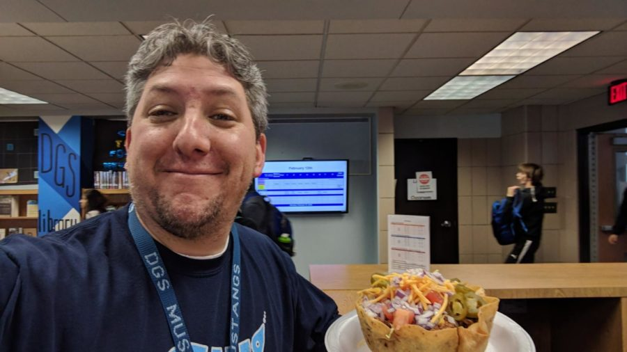 Taco Bowls make an apperance in staff cafeteria