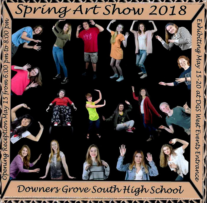 Thinking outside the box: seniors' final art show