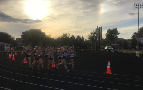 Girls' cross country team strides towards success