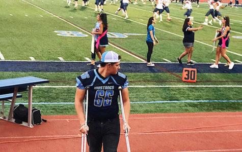 Back-to-back injuries may cost Nick Sostak his senior football season