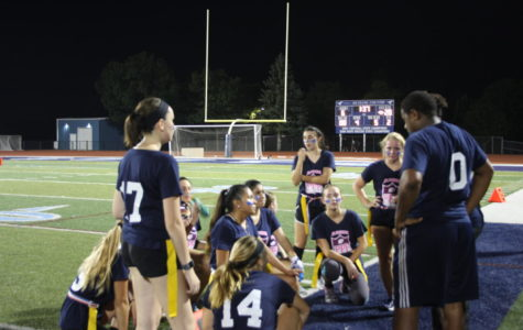 A red carpet look at powder puff football