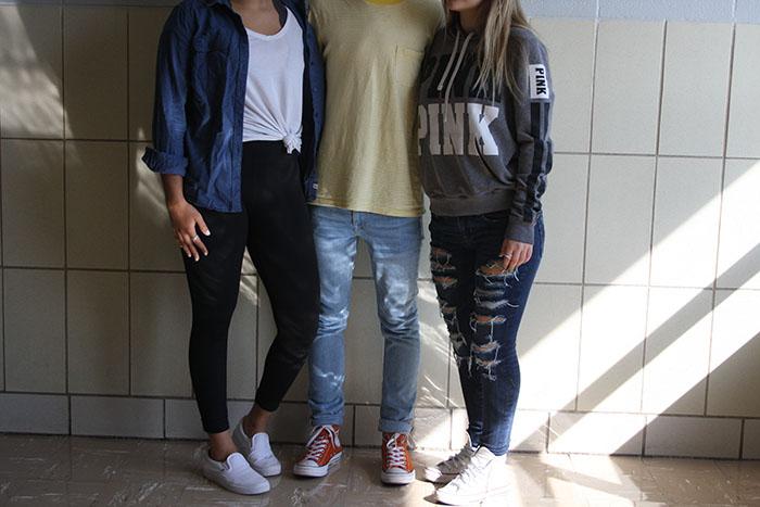 DGS students fall fashion