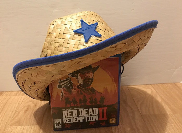 Every+copy+of+the+game+should+be+stored+with+a+cowboy+hat.