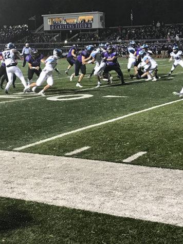 DGS vs. HSHS Varsity football game