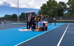 Girls tennis makes a toast to their success at Champaign