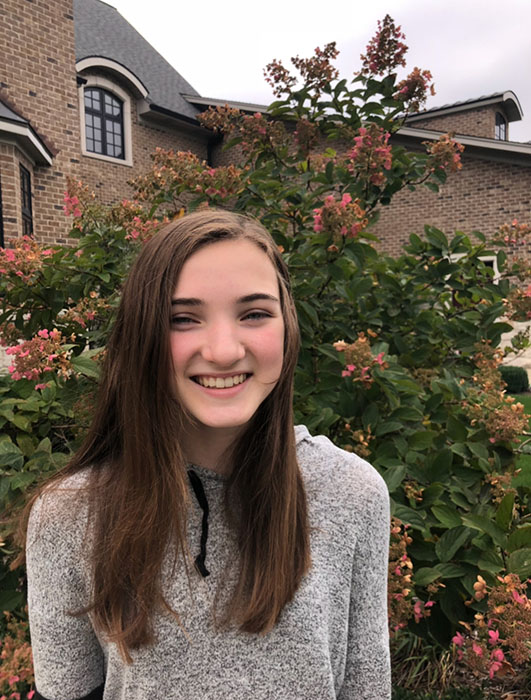 Gillian Krughoff is featured this week for Freshman Friday!