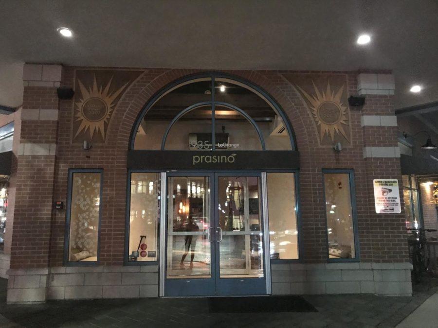 A+glimpse+of+Prasino+outside+of+the+establishment.+