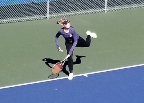 Game, set, match: DGS tennis star qualifies for state