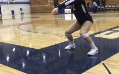 Andresen works towards getting a spot on the varsity volleyball team