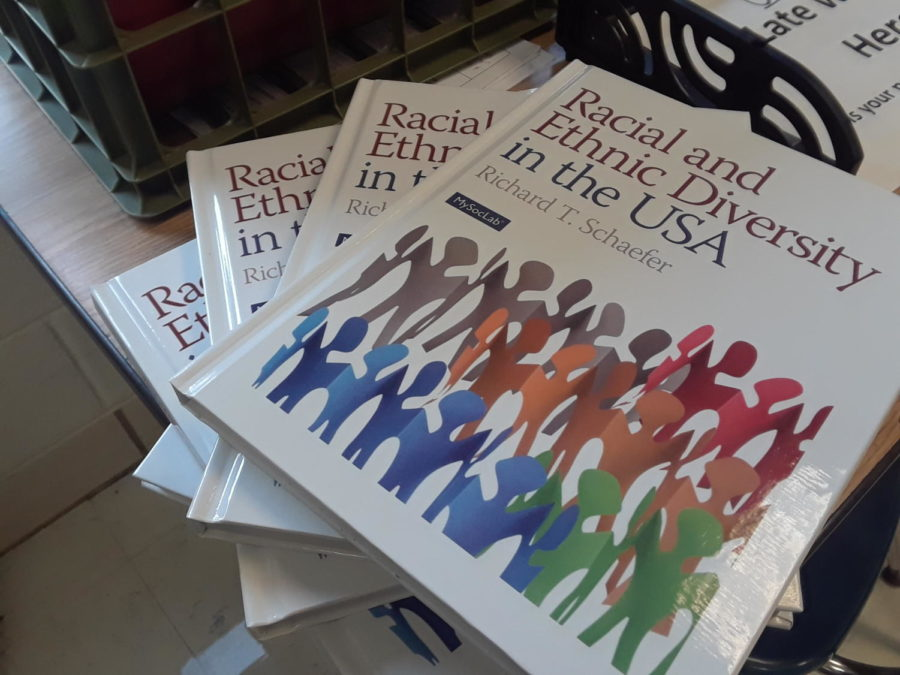 Books about diversity.