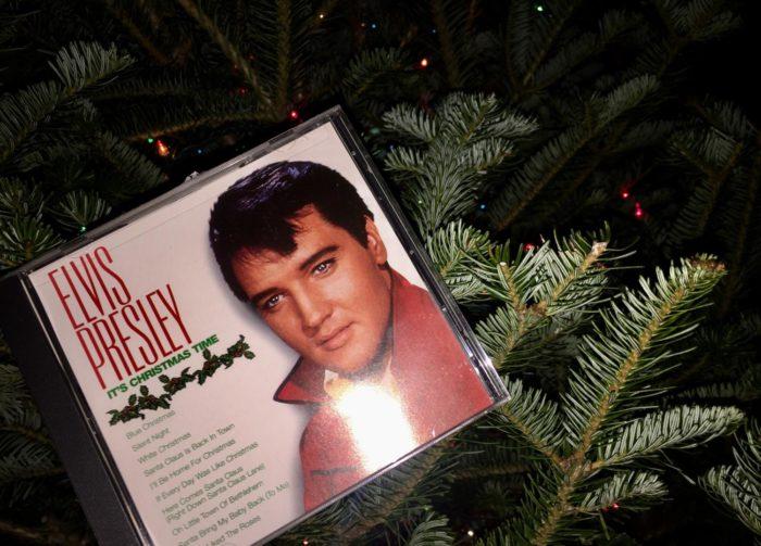 Elvis Presley's Christmas CD.