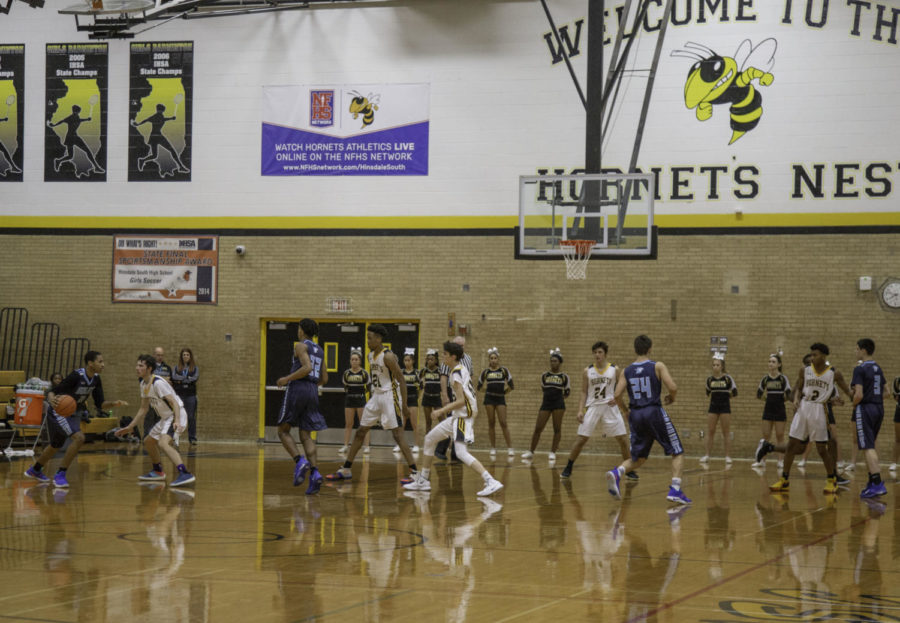 Boys basketball gets ready to rumble