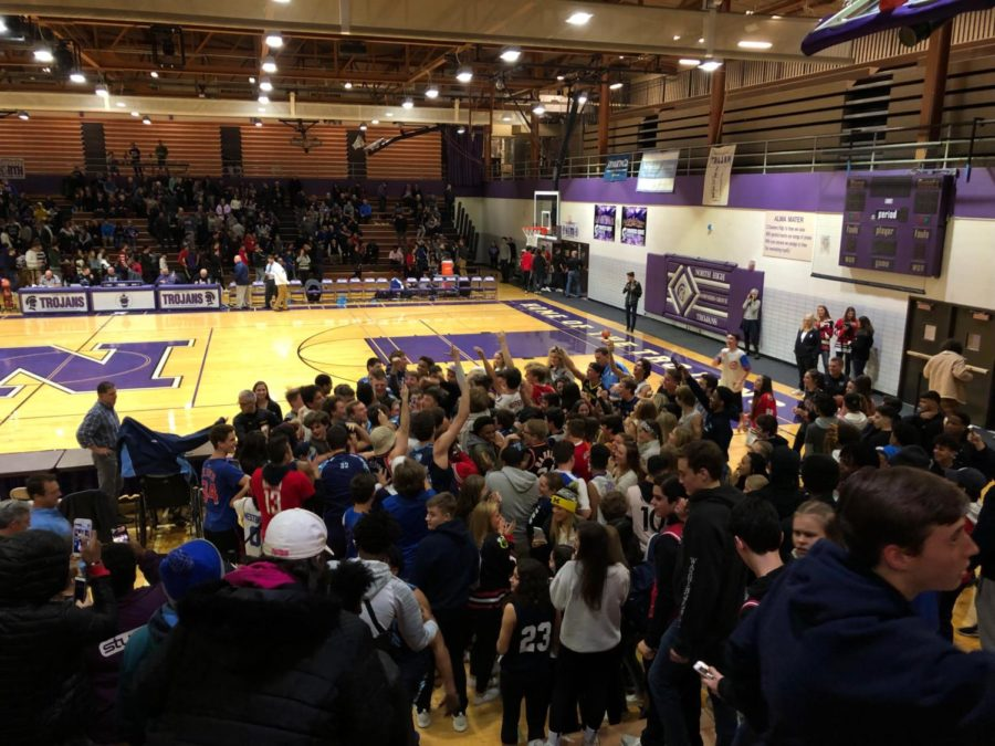 Superfans cheer Mustang sports teams along their way to victory