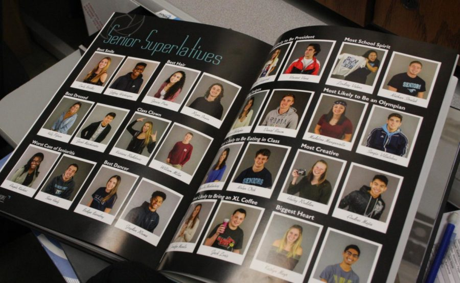 The+senior+only+section+in+the+yearbook.+