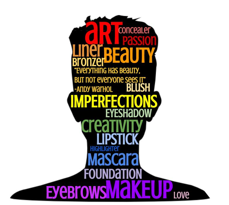 A new kind of art—makeup