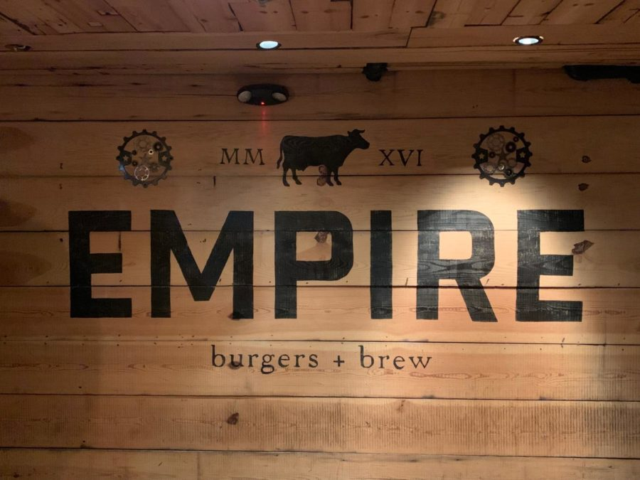 The opening scene as you enter Empire in downtown Naperville.