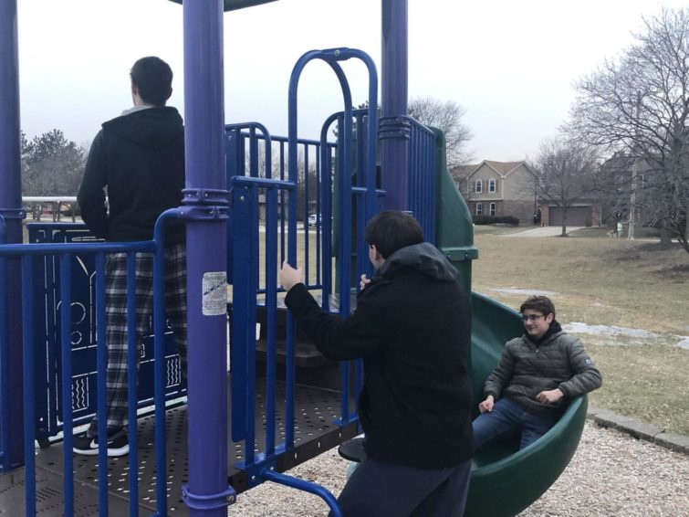 Playing on the playgrounds we remember is almost painful now.