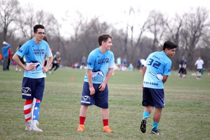Members of the ultimate team began practice on March 18 and will soon be competing against other schools in the area.