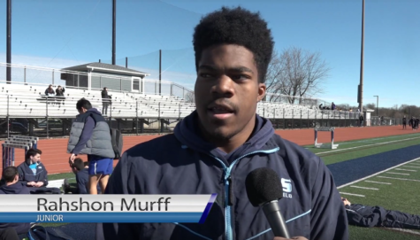 Junior Rashon Murff describes his new and improved workout routine.