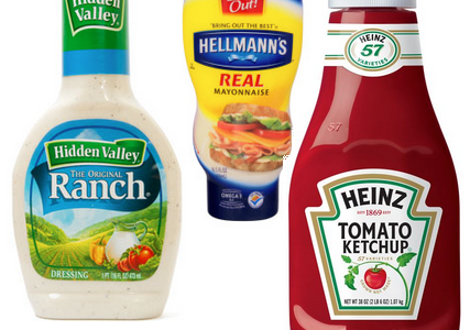 Top 10 Tuesday: Condiments