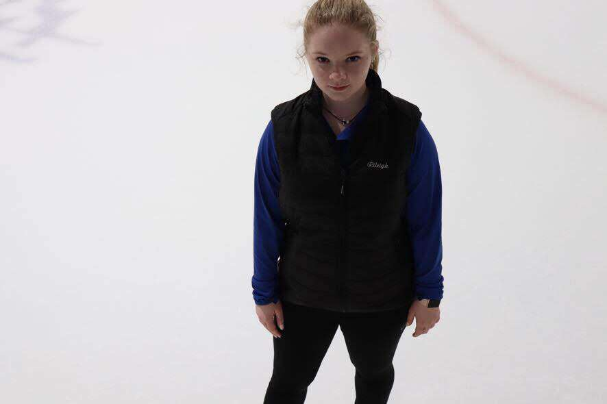 Weber stands confidently as she readies to take on this upcoming season.