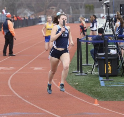 Allison Calek is a senior at DGS who competes on the varsity track team.