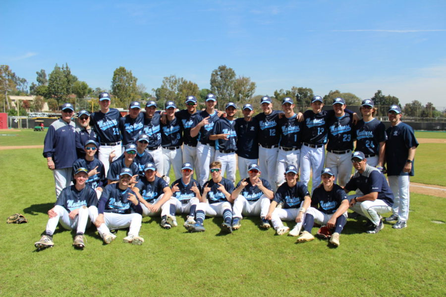 The Mustangs are pumped up for this year's baseball season.
