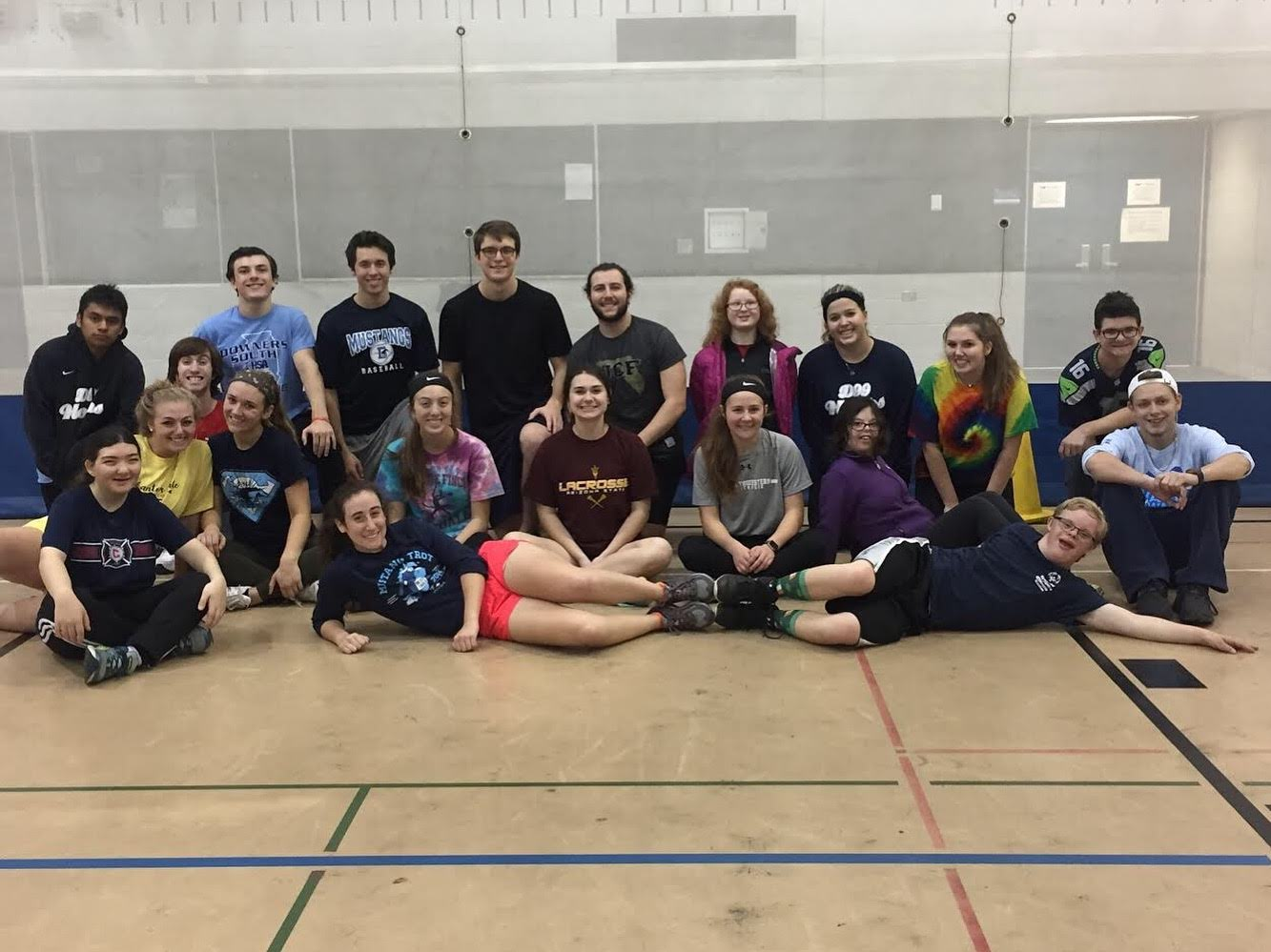 Club Unified on a field day